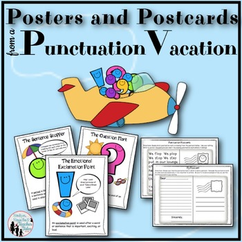 Posters and Postcards from a Punctuation Vacation