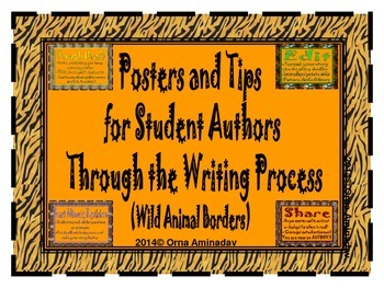 Posters and Tips For Student Authors Through the Writing Process