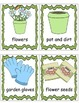 Garden Theme, Write the Room, Posters, Writing Activities,