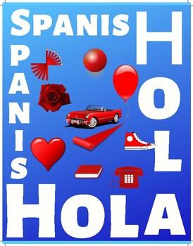 Posters con los colores de la bandera cubana