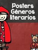 Posters de Los Géneros Literarios