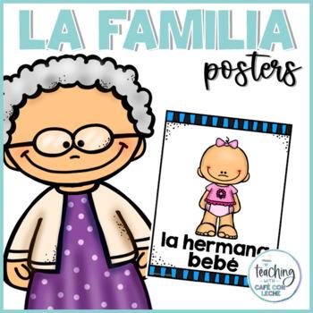 Pósters de la familia / Family Posters