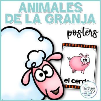 Pósters de los animales de la granja / Farm Animal Posters