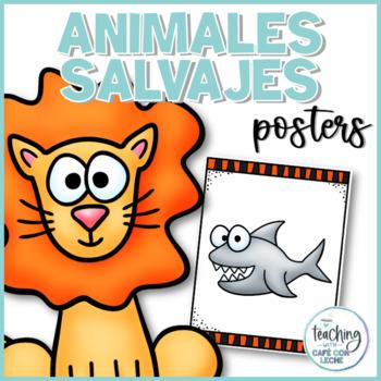 Pósters de los animales salvajes / Wild Animal Posters