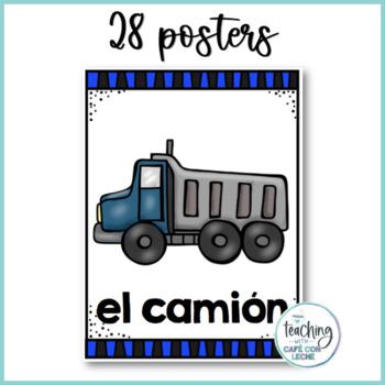 Pósters de los transportes / Transportation Posters