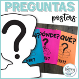 Pósters de preguntas / Spanish Question Word Wall Posters
