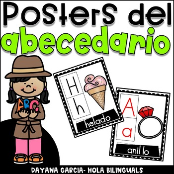 Posters del abecedario- Alphabet posters
