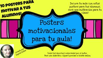 Posters en español! A COLOR!