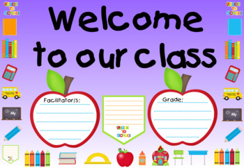 Posters for Classroom - Supplies Theme