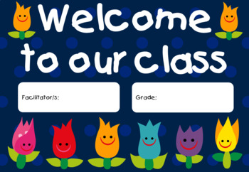 Posters for Classroom - Tulips Theme