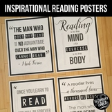 Posters for ELA Classrooms: Inspirational Reading Quotes