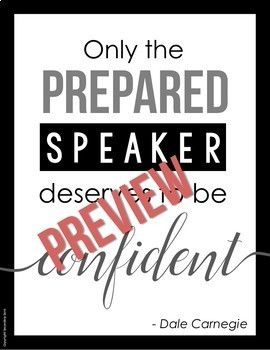 Posters for English Classrooms BUNDLE: Inspirational Stylized Quotes