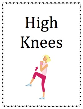 Posters for Fitness Circuits