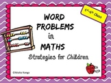 Posters for Math Word Problems - Display Strategies to hel