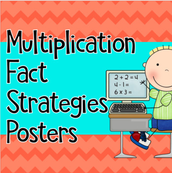 Posters for Multiplication Fact Strategies