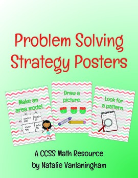Posters for Problem Solving Strategies- Math CCSS Resource