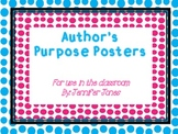 Posters for Teaching Author's Purpose