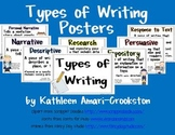 Posters for Types of Writing