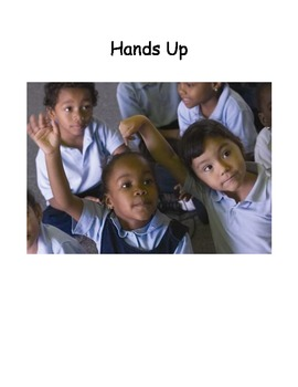 Posters for a Cooperative Learning Strategy: Hands Up, Stand Up, Pair Up