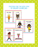 Posters for the Kids' Gym {FREEBIE}
