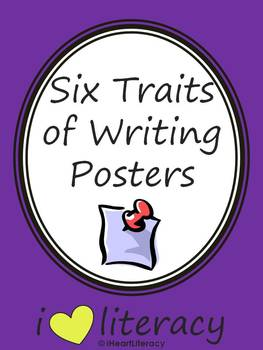 Posters for the Six Traits of Writing