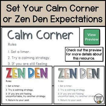 Posters for your Calm Corner or Zen Den
