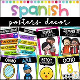 Posters in Spanish - Colors, Numbers, Feelings, Classroom Rules and Shapes
