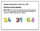 Common Core Math Standards (1st) Posters