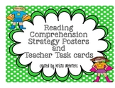 Reading Comprehension Posters and Teacher Task Cards