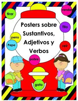 Verbo Sustantivo Adjetivo Teaching Resources | Teachers Pay Teachers