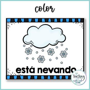 Pósters, tarjetas y memoria del tiempo / Weather Posters, Flashcards and Memory