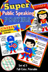 Posters to Teach Public Speaking & Audience Etiquette