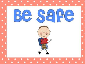Posters to support PBIS
