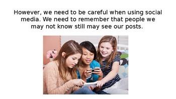 Posting on Social Media Social Story