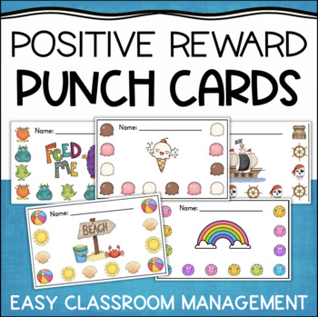 Positive Reward Punch Cards