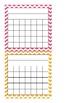 Postive Behavior Intervention Sticker Charts