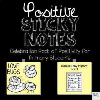Positive Sticky Notes Celebration Edition