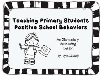 Postive School Behaviors Reproducable Book