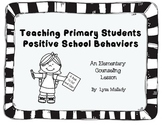 Postive School Behaviors Reproducable Book