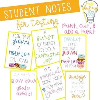 Postive Testing Notes for Students