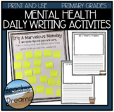 Mental Health Daily Positive Affirmations Activity Posters