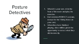 Posture Detective Game for Beginning Band