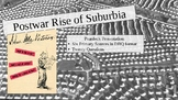 Postwar Rise of Suburbia: Document Based Questions PowerPoint