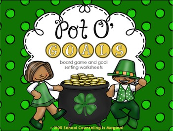 Pot O' Goals: Board Game and Goal Setting Worksheets