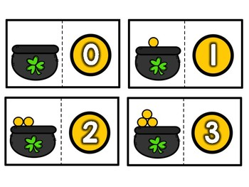 Pot O' Gold Counting to 20