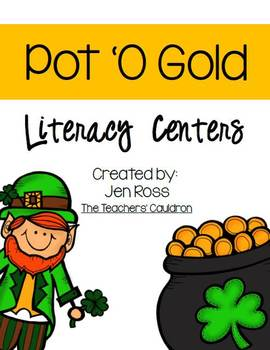 Pot O' Gold Literacy & Math Centers