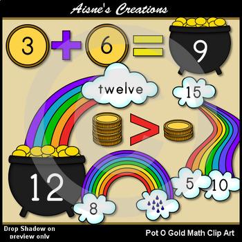 Pot O Gold Math Clip Art