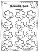 St. Patrick's Day Pot O' Gold Math & Literacy Printables a
