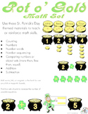 Pot O' Gold Math Set: counting, numbers, adding, subtraction