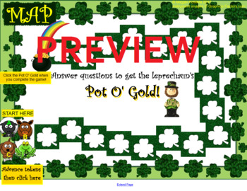 Pot O' Gold - St. Patrick's Day Instrument I.D. Music Game - Elementary Music
